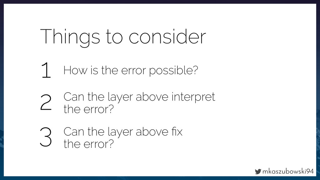 mkaszubowski94 Things to consider Can the layer...