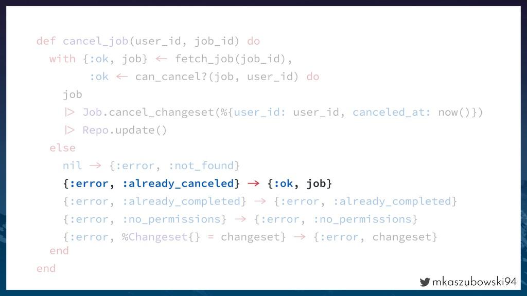 mkaszubowski94 def cancel_job(user_id, job_id) ...