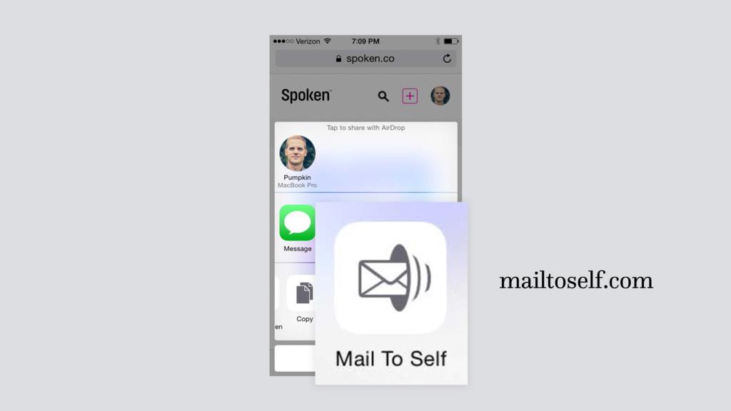 mailtoself.com