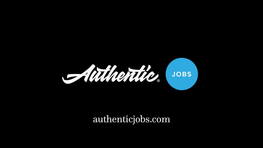 authenticjobs.com