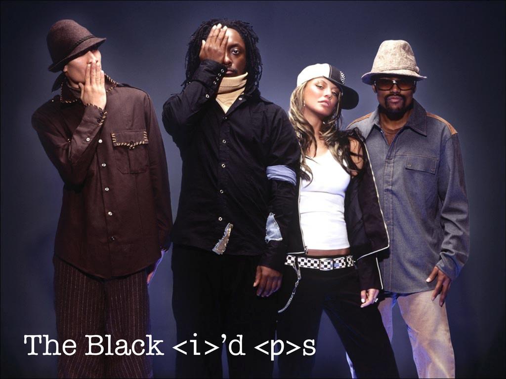 The Black <i>'d <p>s