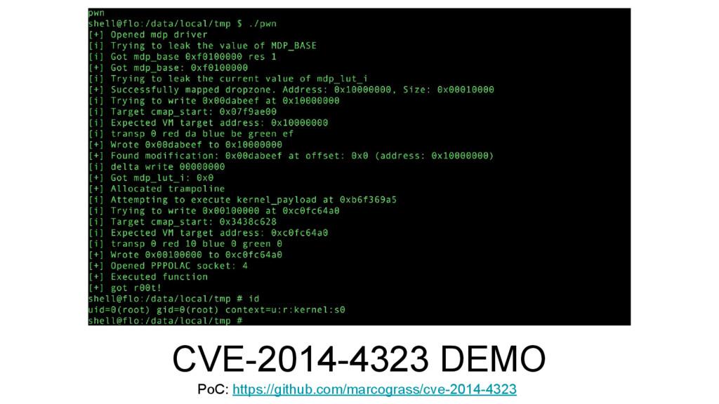 CVE-2014-4323 DEMO PoC: https://github.com/marc...