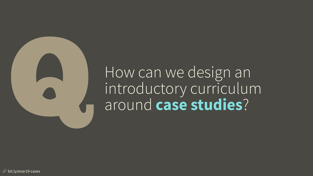 QHow can we design an introductory curriculum a...