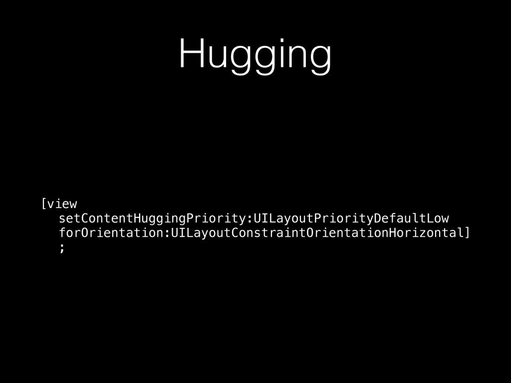 Hugging [view setContentHuggingPriority:UILayou...