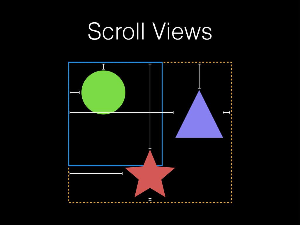 Scroll Views