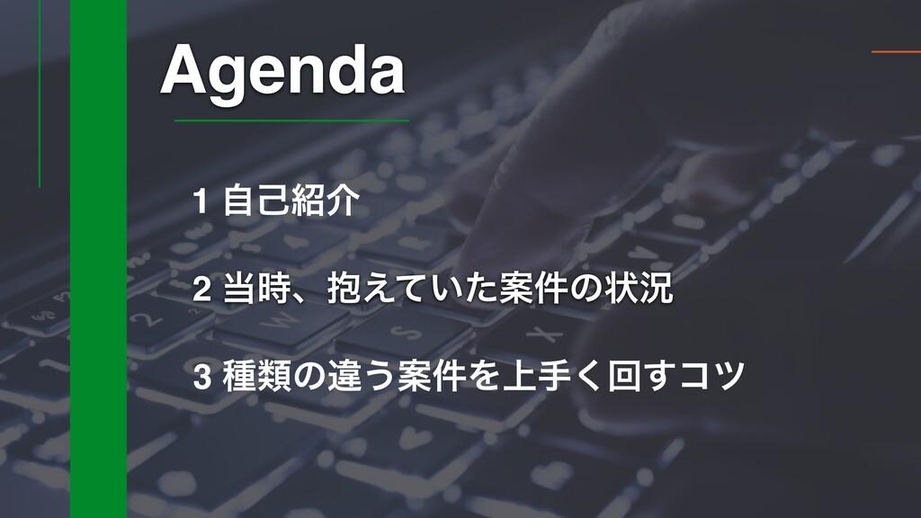 2 ɺ๊͍͑ͯͨҊ݅ͷঢ়گ Agenda 3 छྨͷҧ͏Ҋ݅Λ্ख͘ճ͢ίπ 1 ࣗݾհ