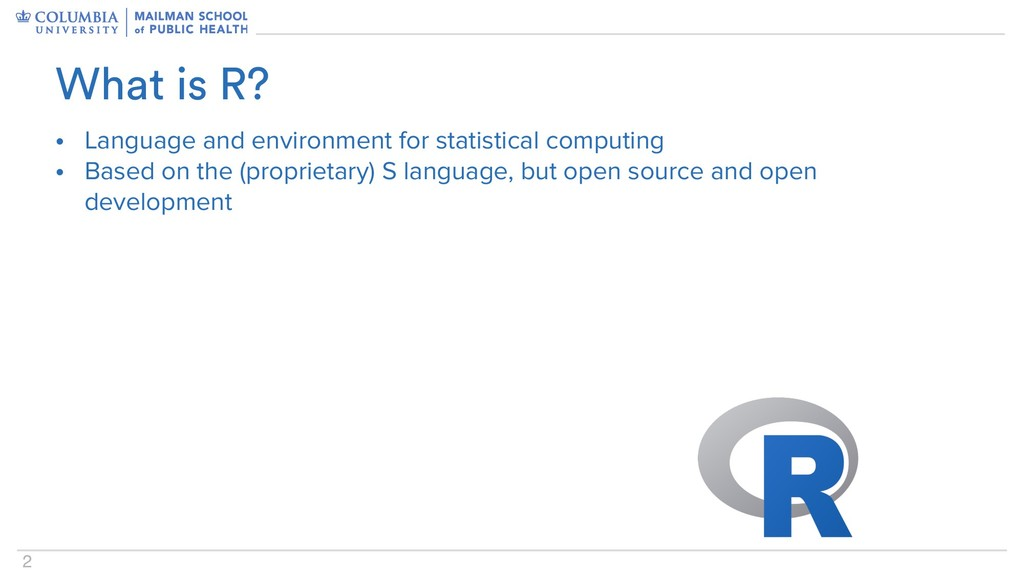 2 • Language and environment for statistical co...