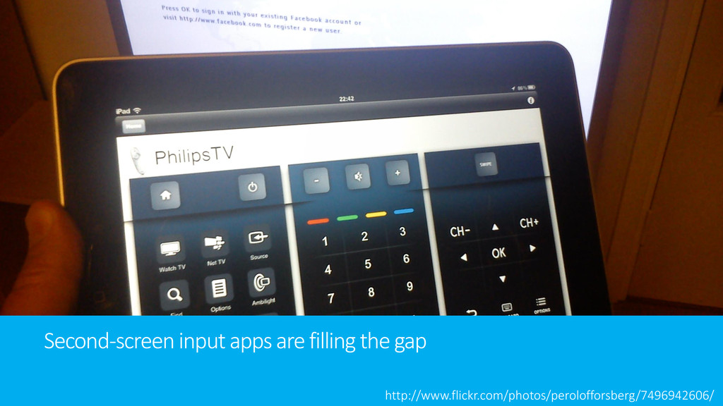 Second-screen input apps are filling the gap ht...