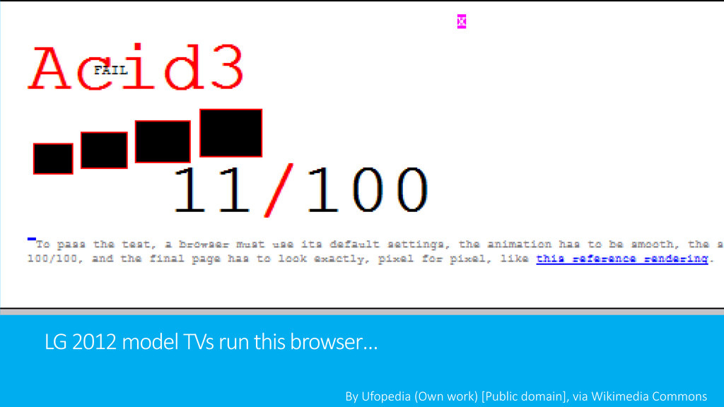 LG 2012 model TVs run this browser… By Ufopedia...