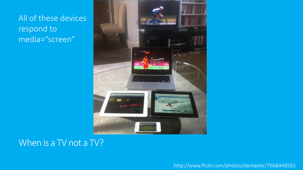 When is a TV not a TV? http://www.flickr.com/ph...