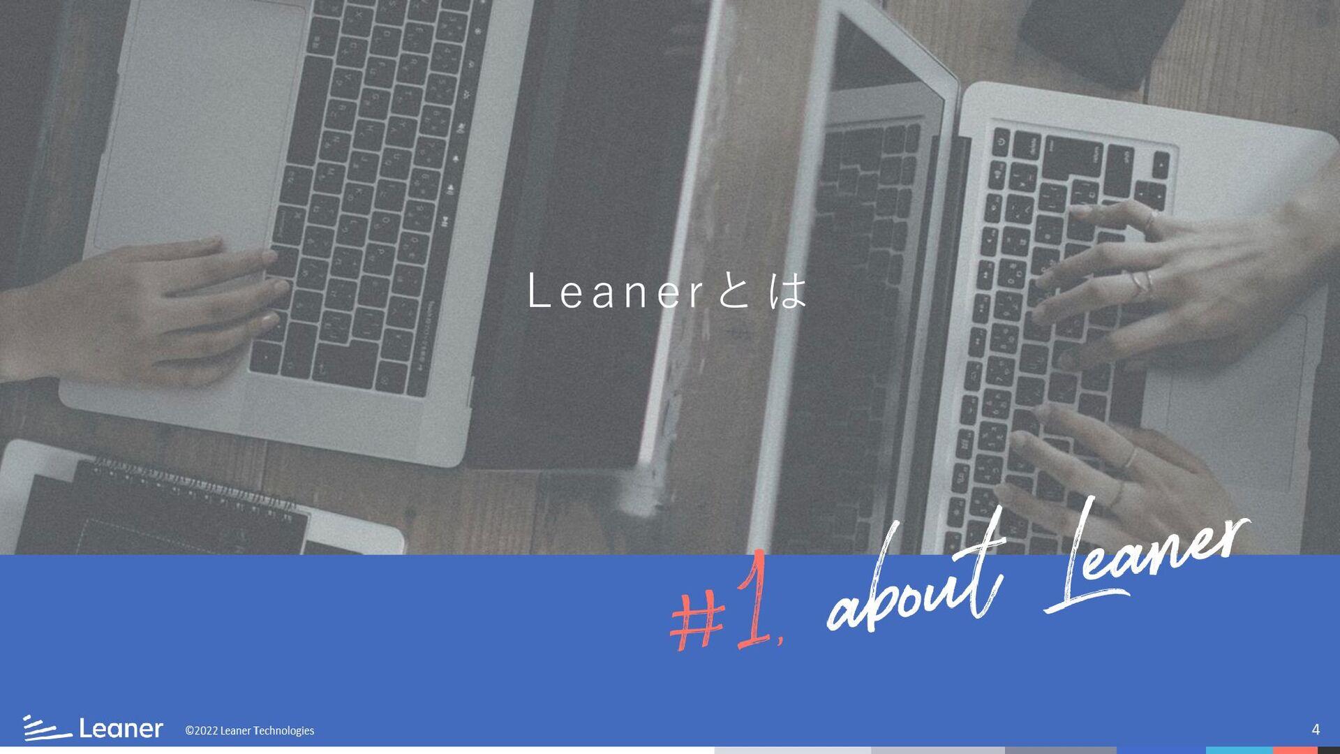 4 ©2019 Leaner Technologies Leaner Technologies...