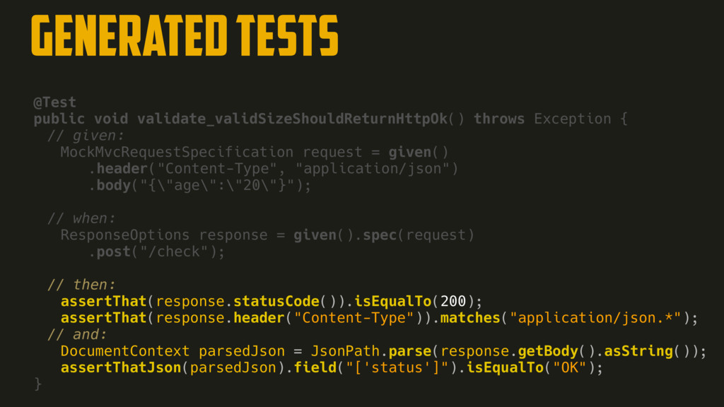 @Test public void validate_validSizeShouldRetur...