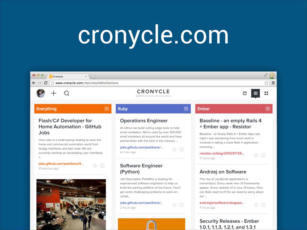cronycle.com