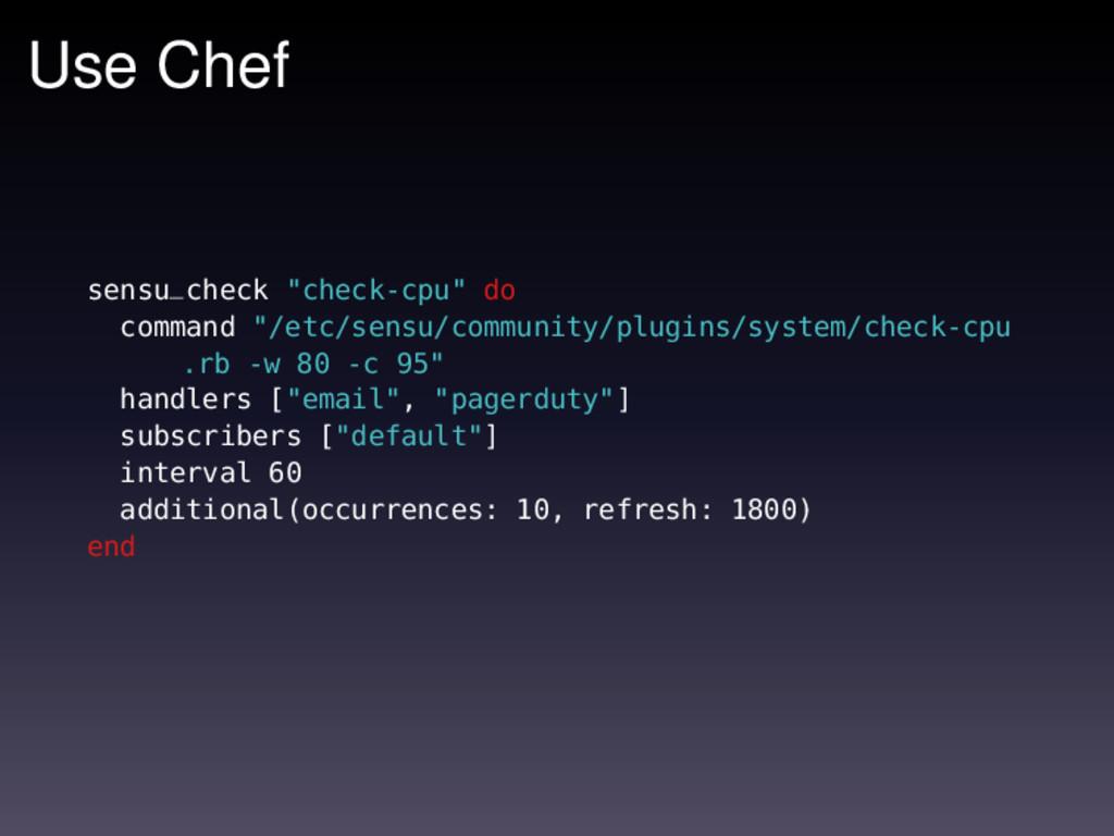 "Use Chef sensu_check ""check-cpu"" do command ""/e..."
