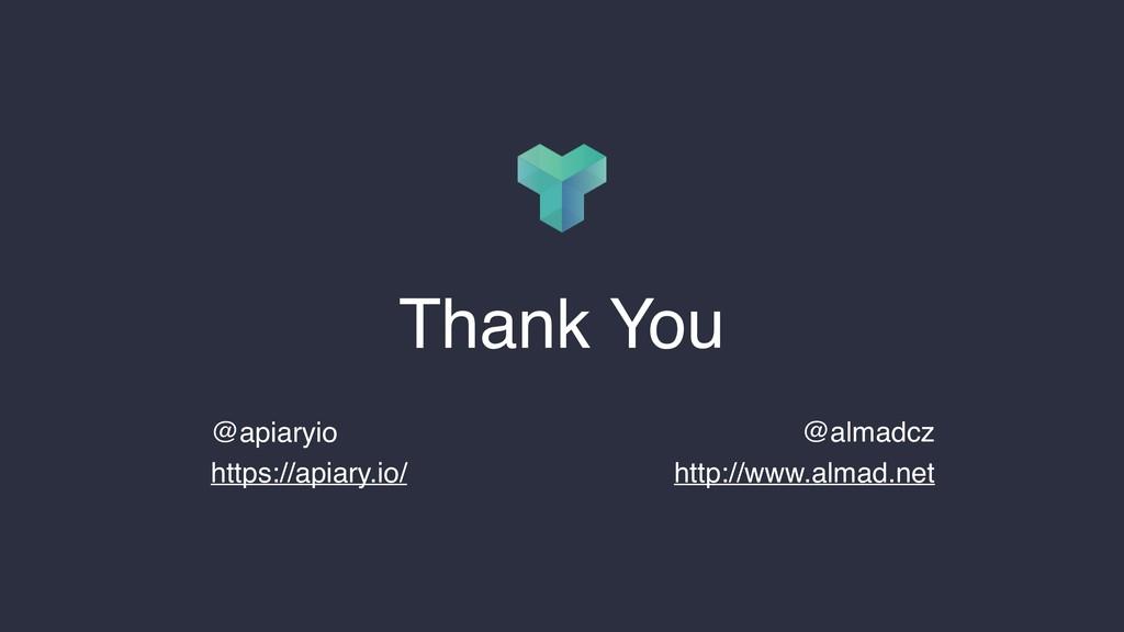 @almadcz http://www.almad.net Thank You @apiary...