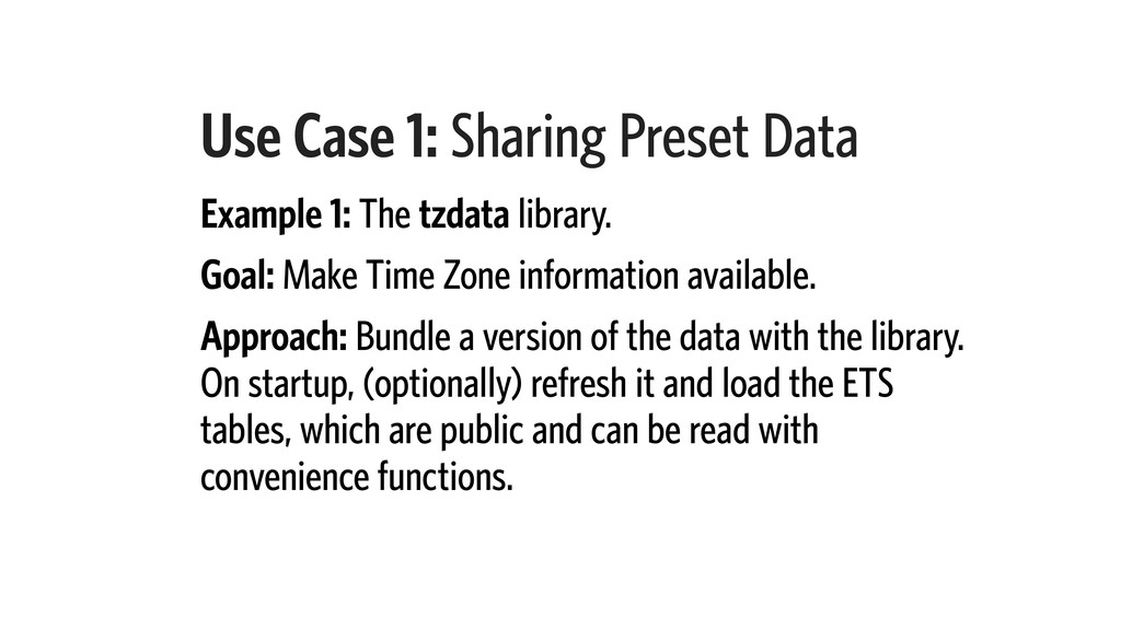 Use Case 1: Sharing Preset Data Example 1: The ...