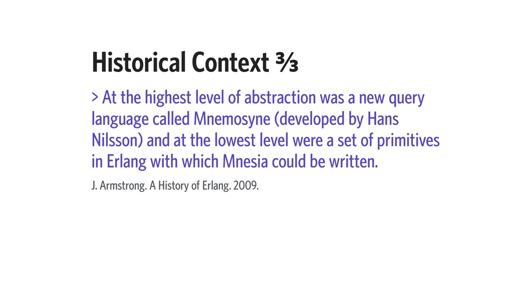 Historical Context C⁄c > At the highest level o...