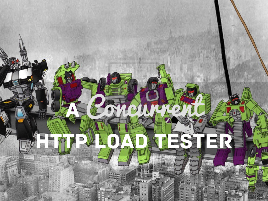 A Concurrent HTTP LOAD TESTER