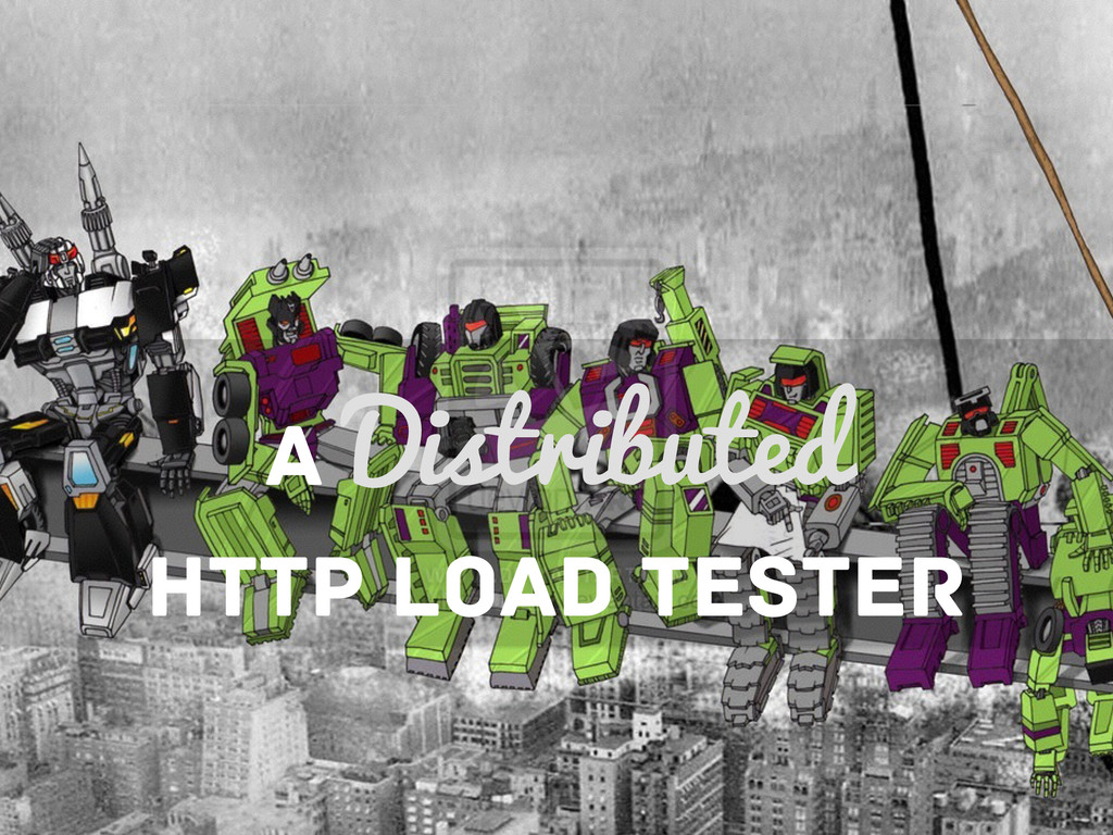 A Distributed HTTP LOAD TESTER
