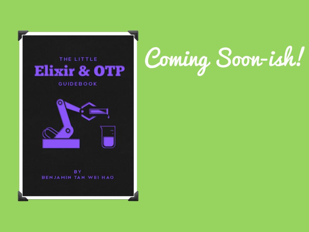 Coming Soon-ish!
