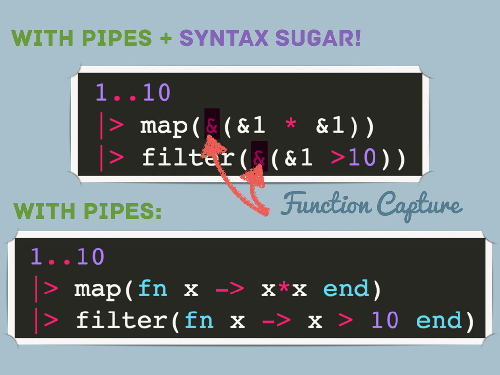 WITH PIPES: WITH PIPES + SYNTAX SUGAR! Function...
