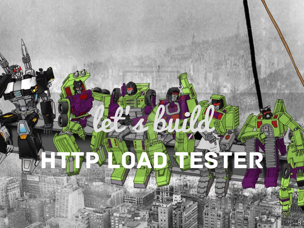 let's build HTTP LOAD TESTER