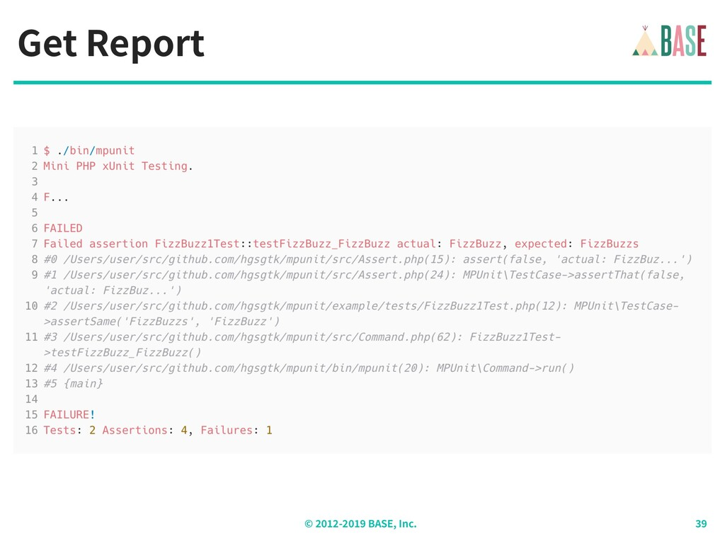 © - BASE, Inc. Get Report