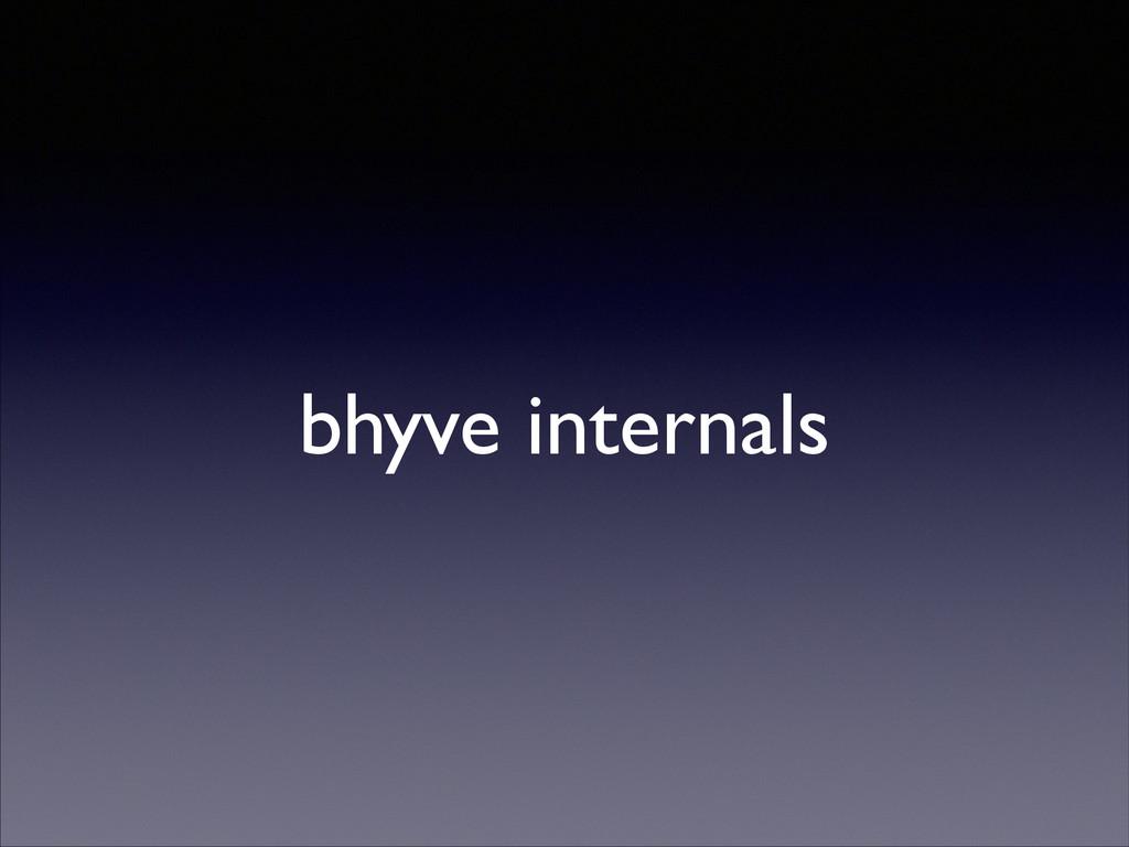 bhyve internals