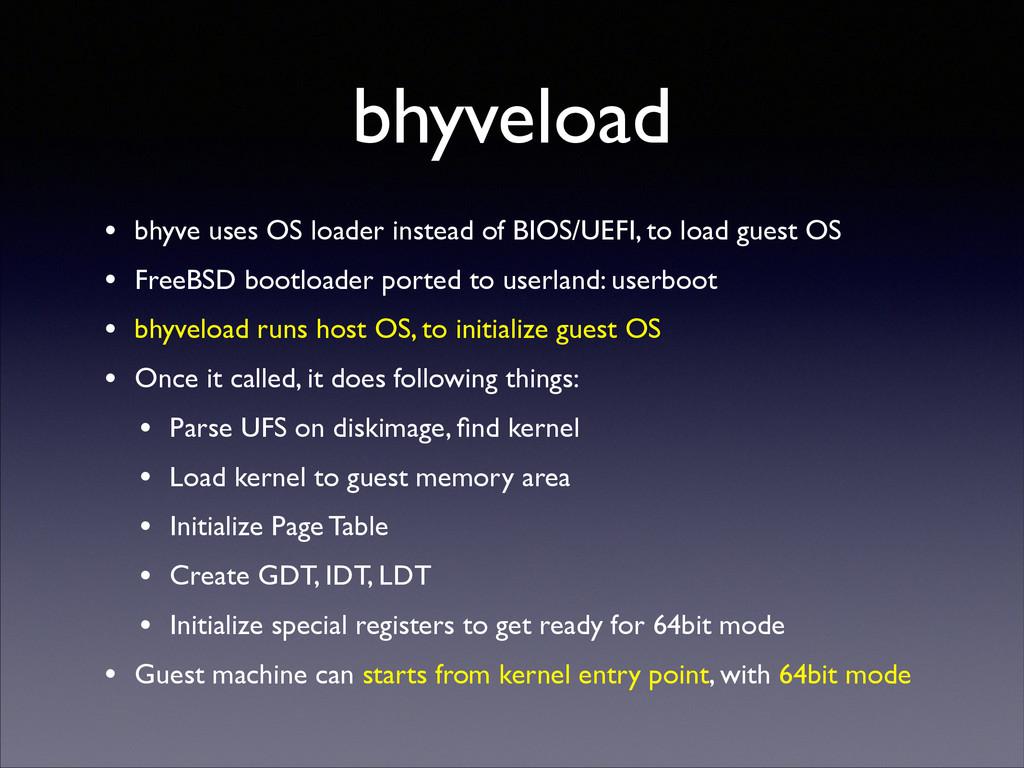 bhyveload • bhyve uses OS loader instead of BIO...