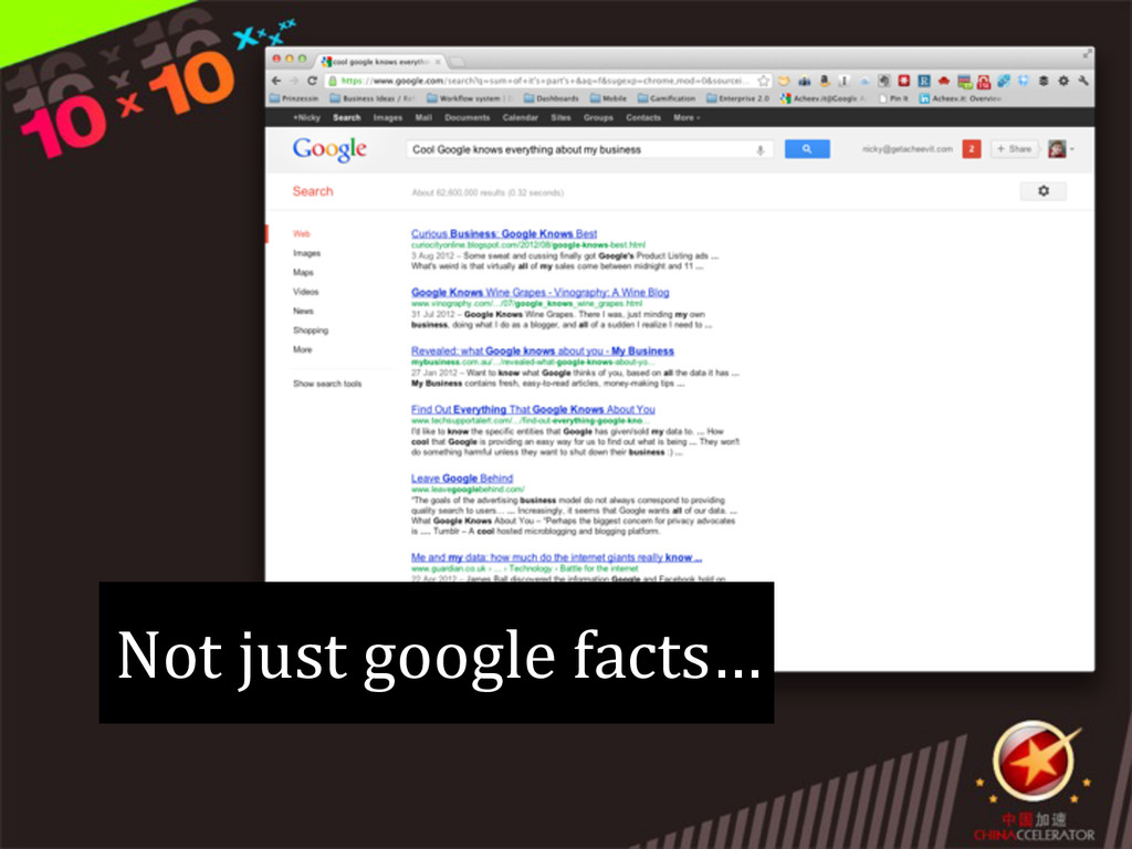 Not just google facts…