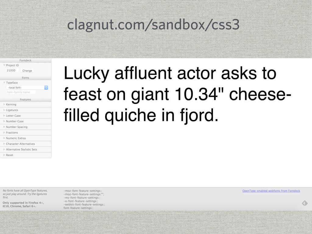 clagnut.com/sandbox/css3