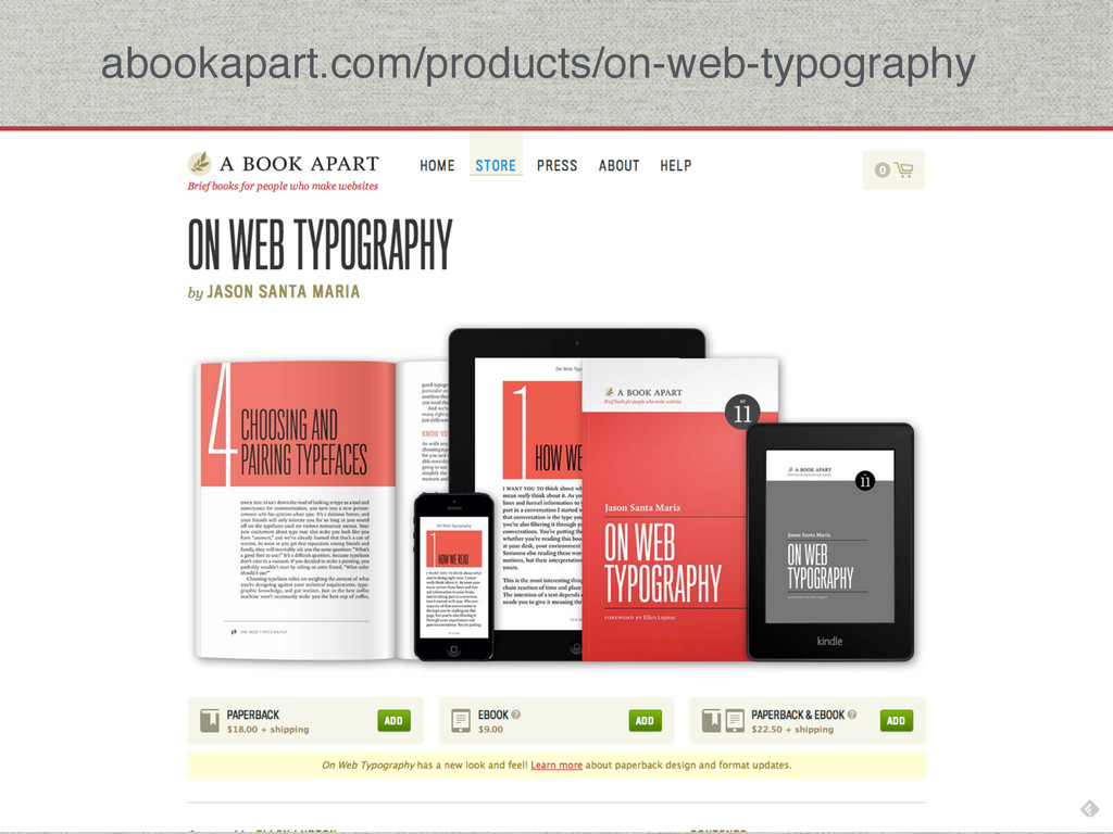 abookapart.com/products/on-web-typography