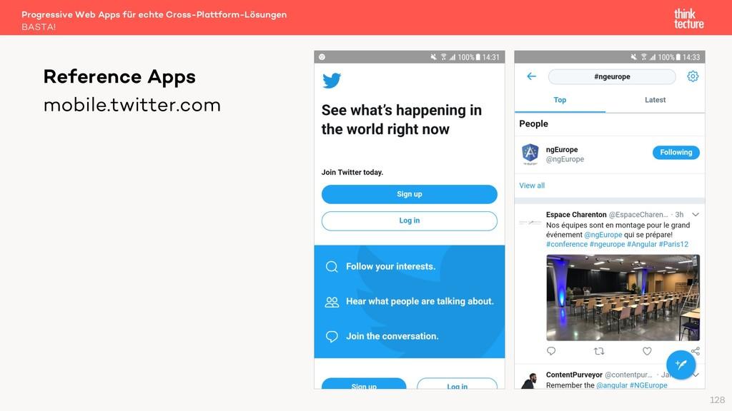 mobile.twitter.com Reference Apps BASTA! Progre...