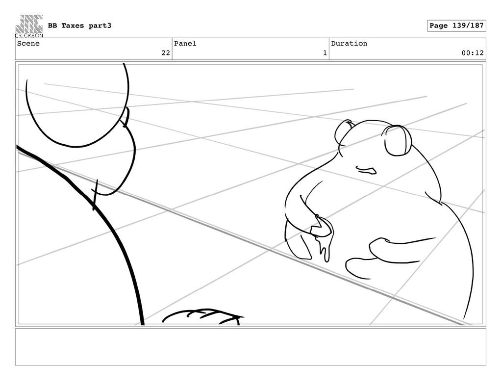 Scene 22 Panel 1 Duration 00:12 BB Taxes part3 ...