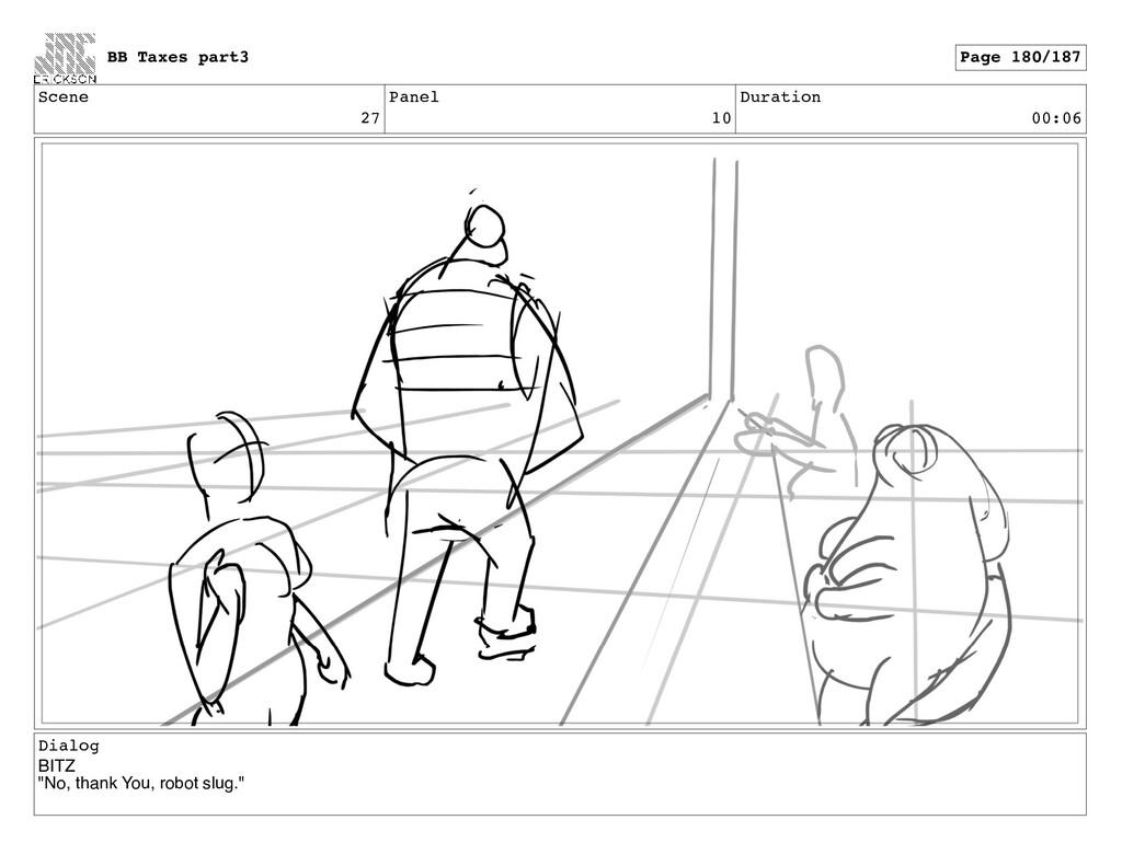 """Scene 27 Panel 10 Duration 00:06 Dialog BITZ """"N..."""