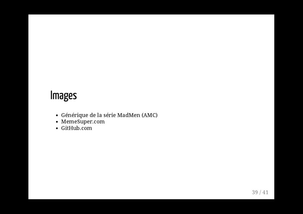 Générique de la série MadMen (AMC) MemeSuper.co...