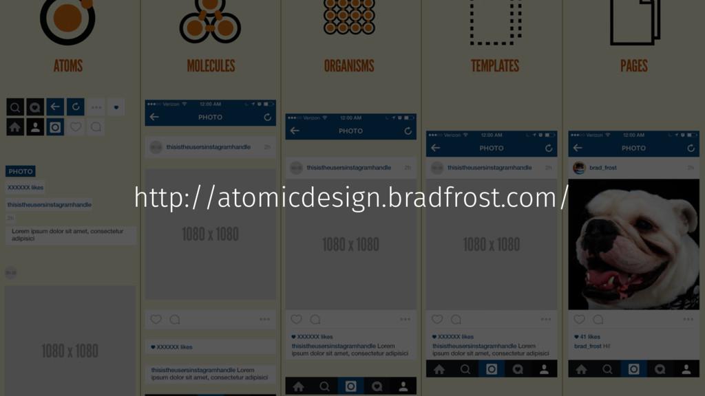 http://atomicdesign.bradfrost.com/