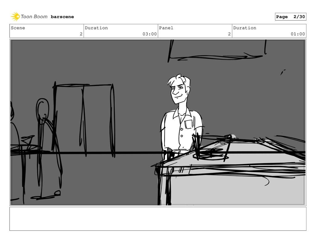 Scene 2 Duration 03:00 Panel 2 Duration 01:00 b...