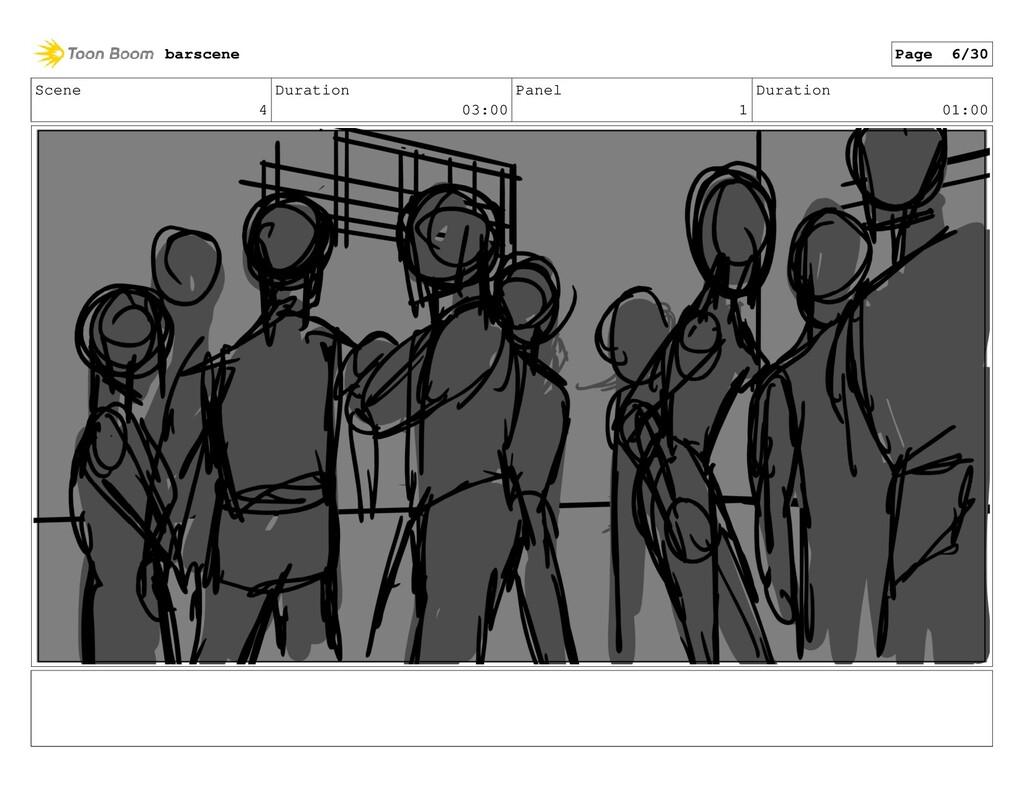 Scene 4 Duration 03:00 Panel 1 Duration 01:00 b...