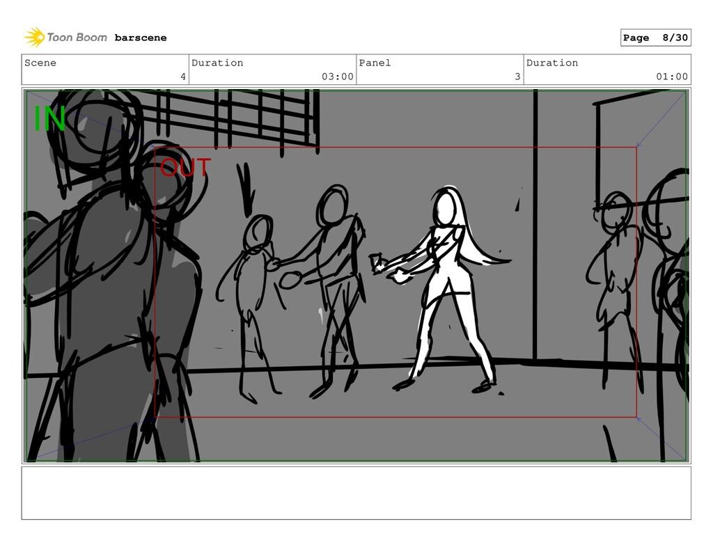 Scene 4 Duration 03:00 Panel 3 Duration 01:00 b...