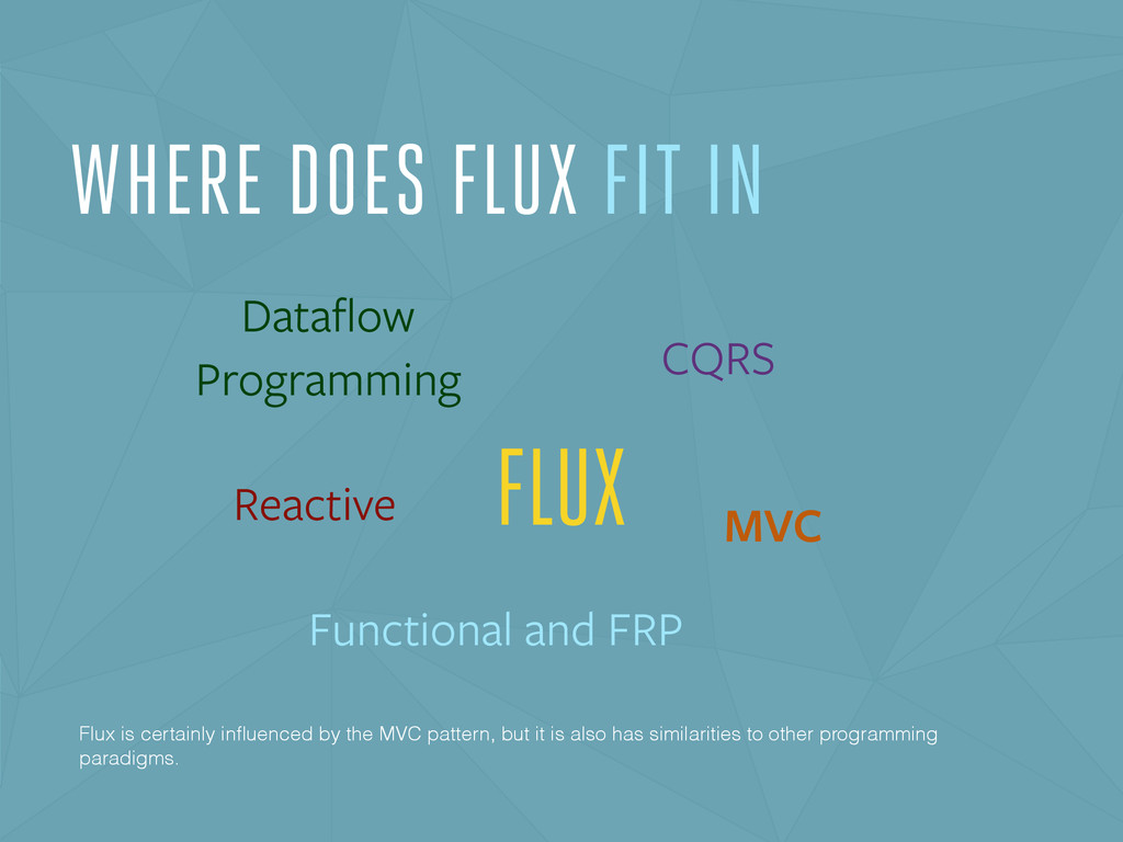 FLUX Dataflow Programming CQRS Functional and FR...