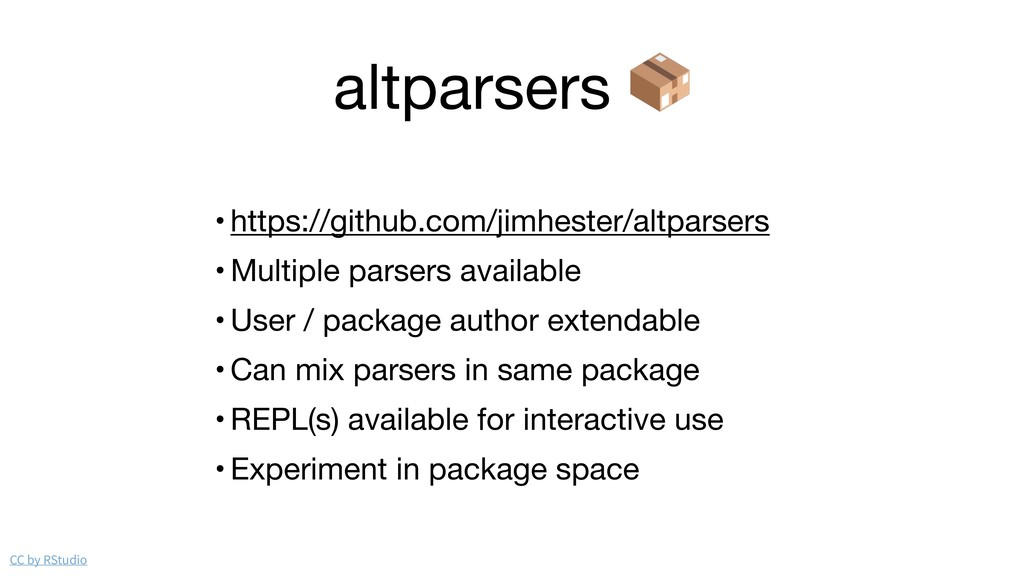 altparsers  • https://github.com/jimhester/altp...