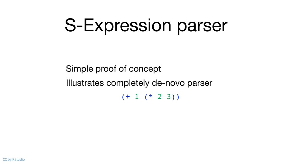 S-Expression parser Simple proof of concept  Il...