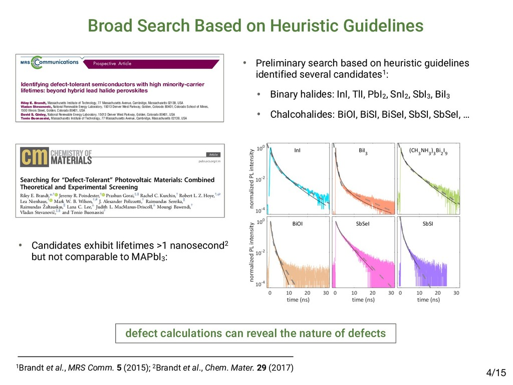 Broad Search Based on Heuristic Guidelines • Pr...