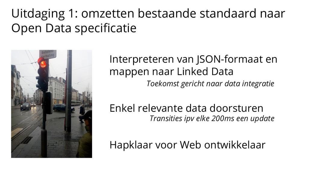 Uitdaging 1: omzetten bestaande standaard naar ...