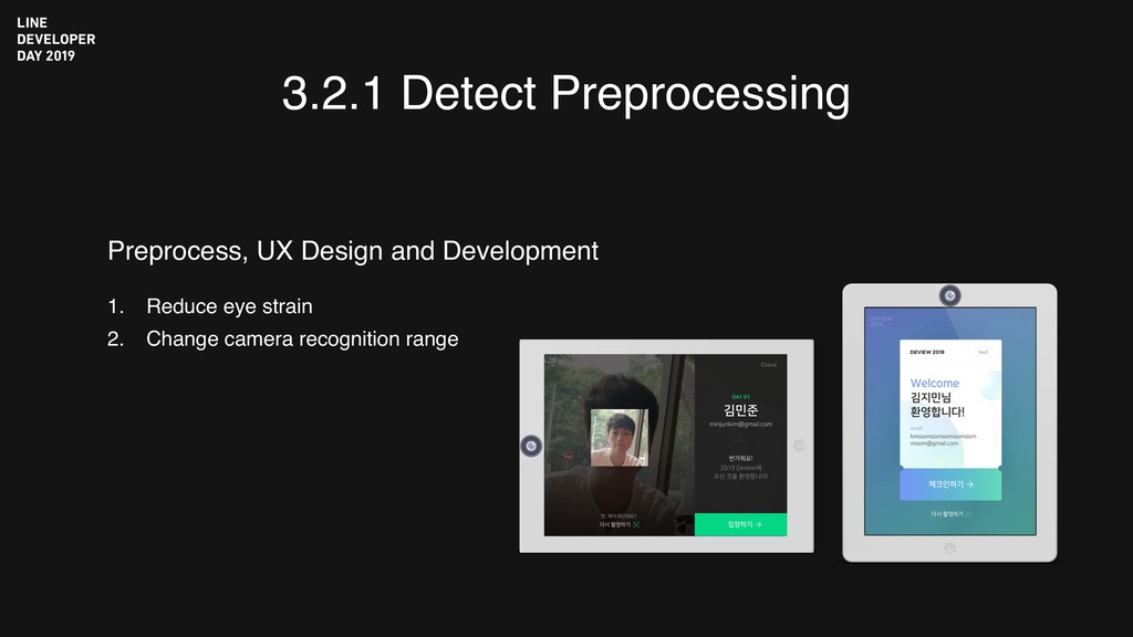 3.2.1 Detect Preprocessing 1. Reduce eye strain...
