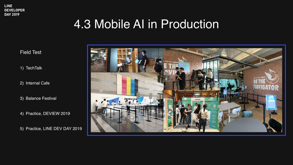 4.3 Mobile AI in Production Field Test 1) TechT...