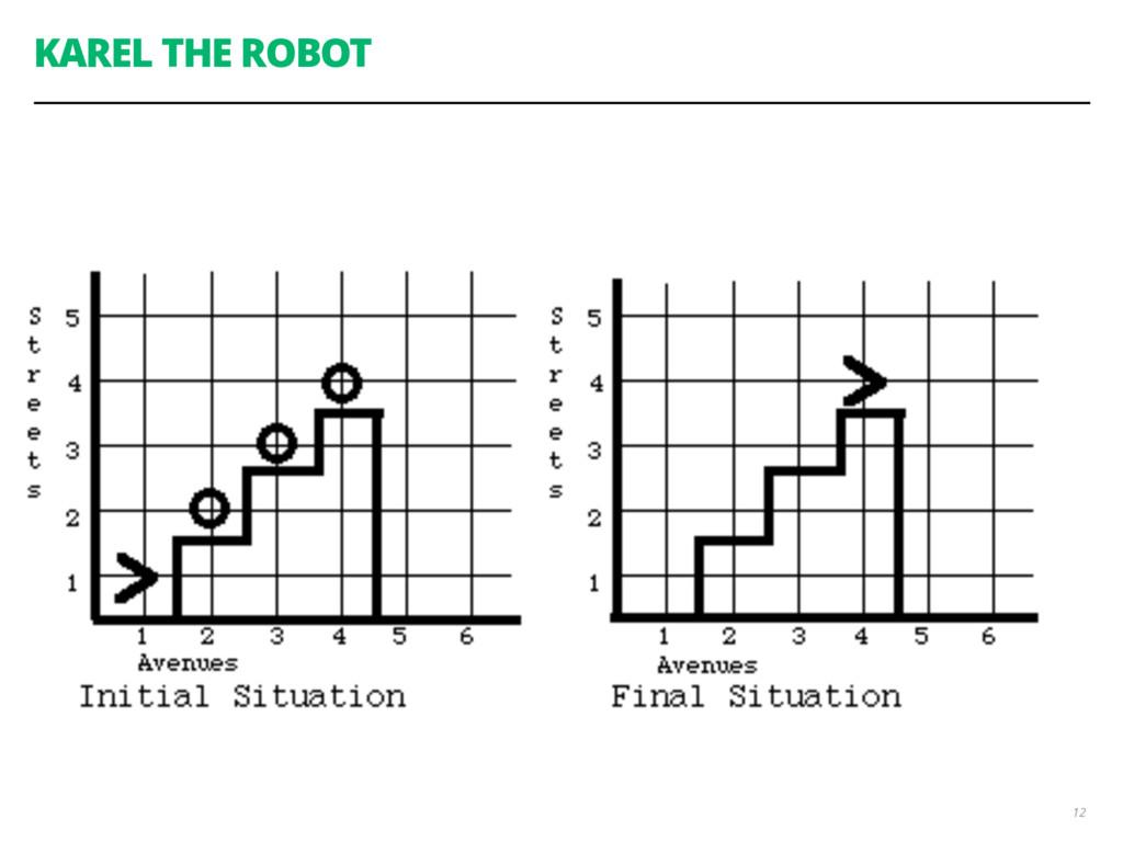 KAREL THE ROBOT 12
