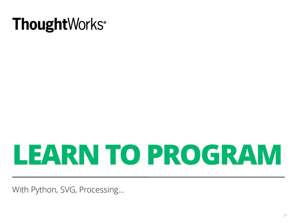LEARN TO PROGRAM With Python, SVG, Processing… ...