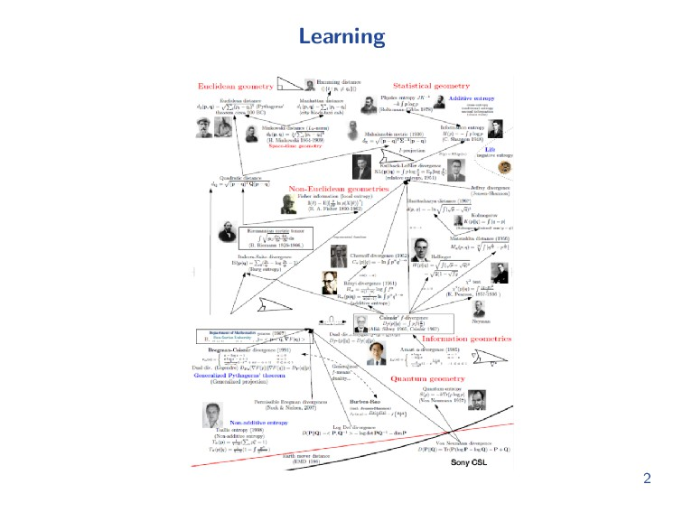 Information and Learning 2